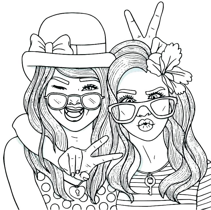 free coloring pages elegant printable awesome friendship bff