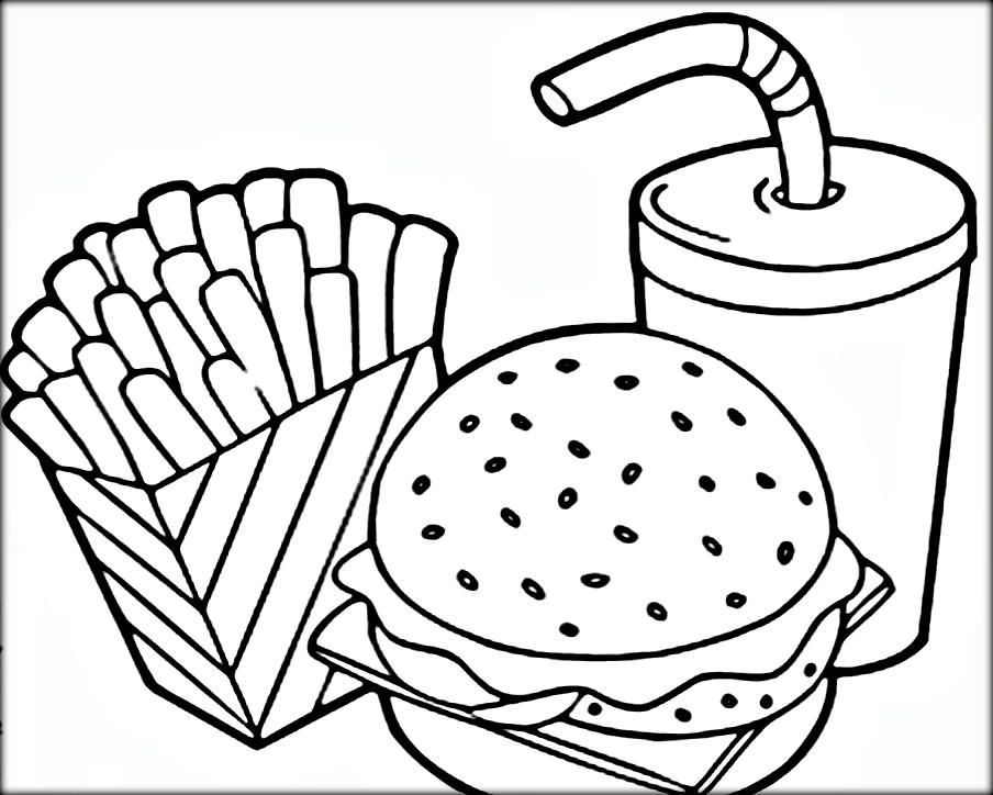 - Food Coloring Pages Gallery - Whitesbelfast