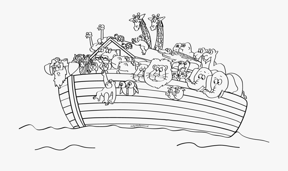 Noah S Ark Coloring Pages Collection Whitesbelfast