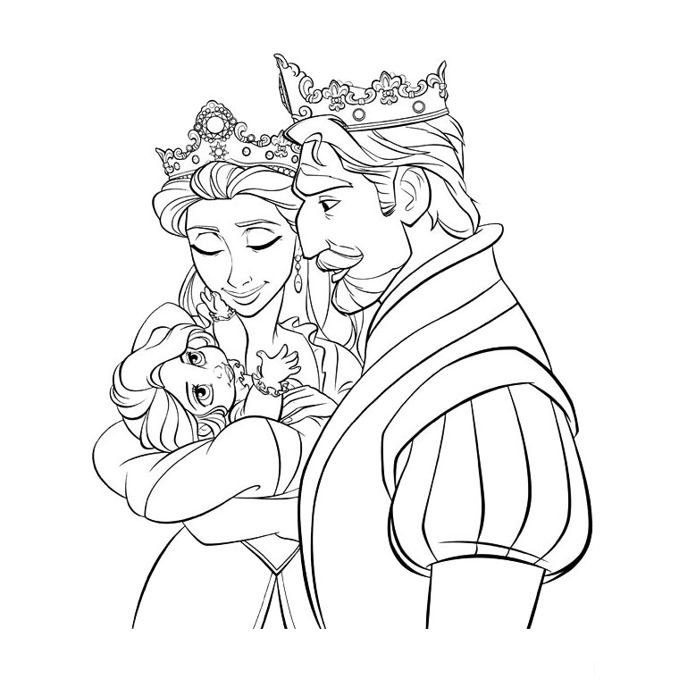 free coloring pages rapunzel tangled coloring pages download