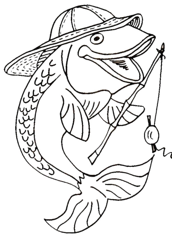 free fish coloring pages