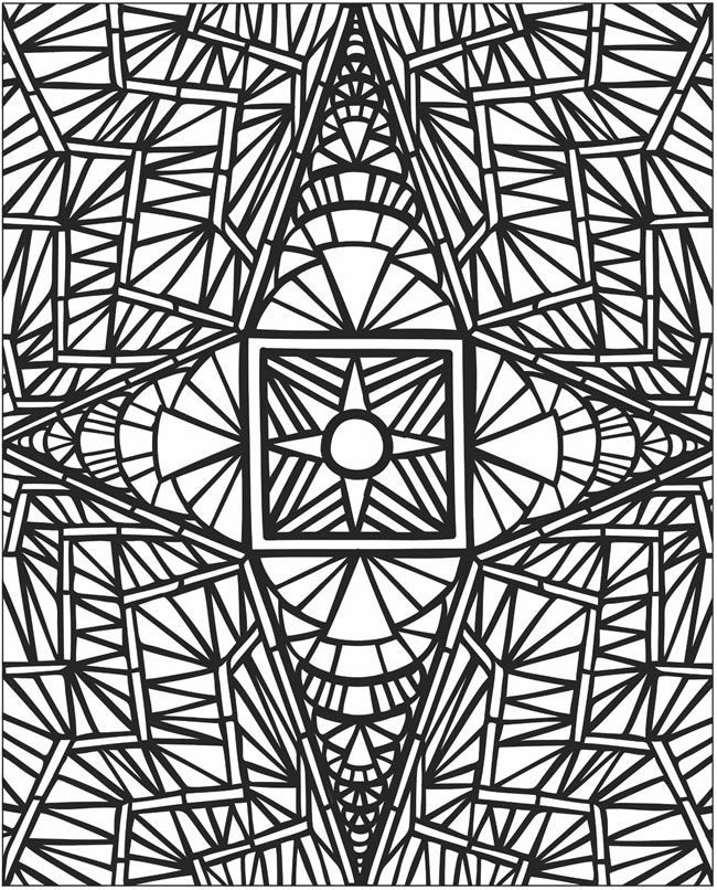 free free printable mosaic coloring pages download free