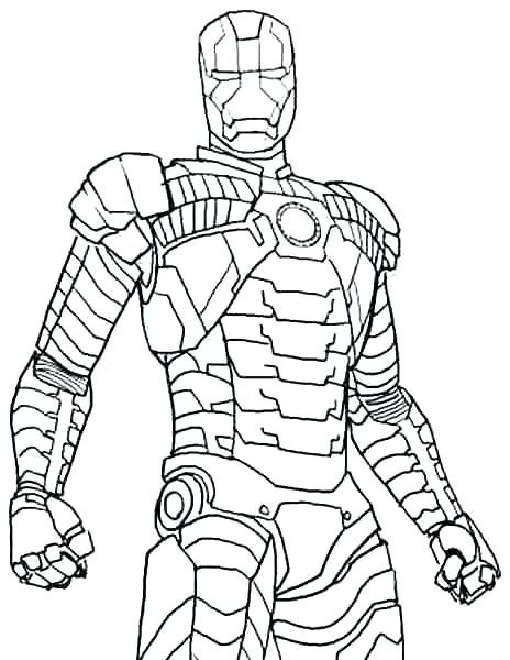 free iron man coloring pages at getdrawings free for