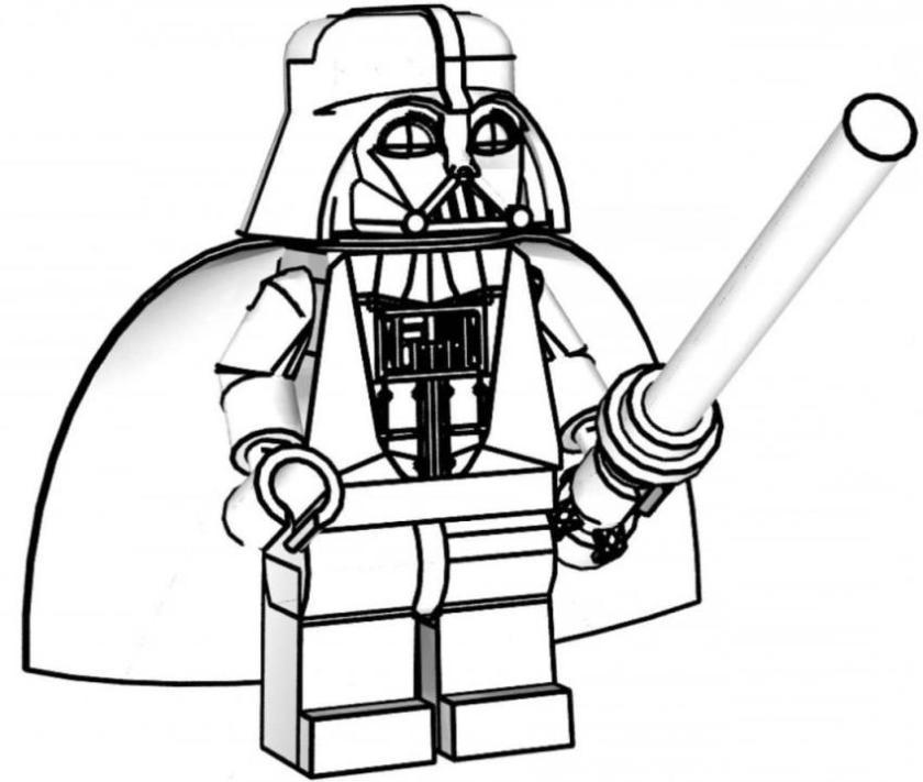 Lego Star Wars Master Yoda coloring page   SuperColoring.com ...   711x840