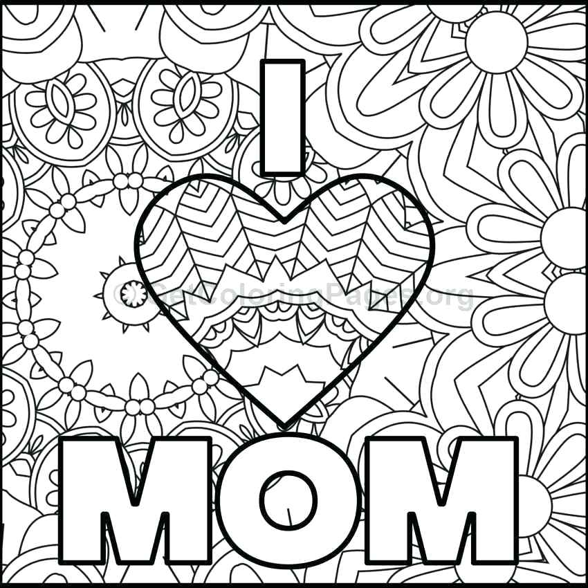 free mothers day coloring pages at getdrawings free