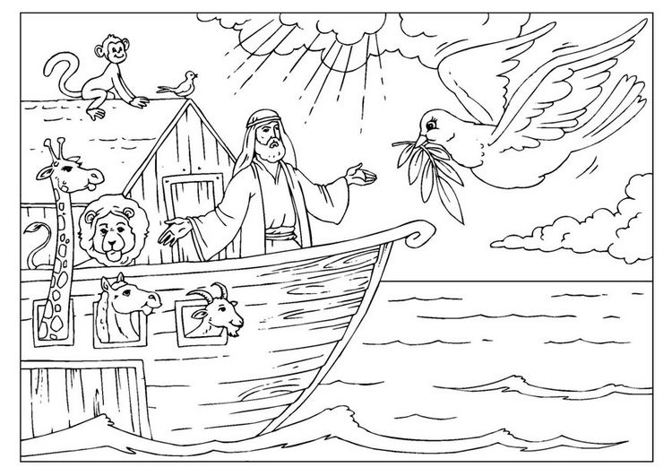 free noahs ark coloring pages download printable image