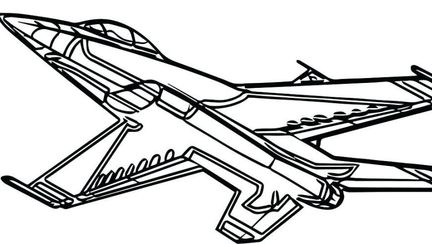 free printable airplane coloring pages at getdrawings