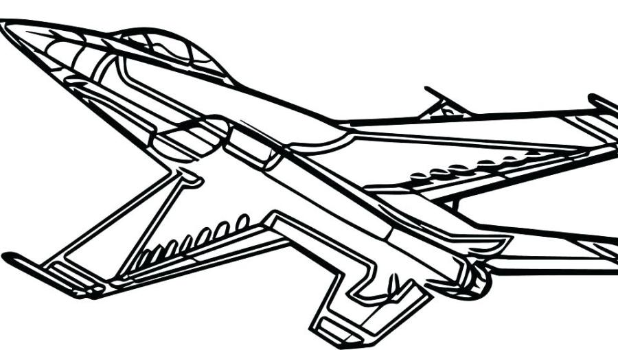 free printable airplane coloring pages at getdrawings