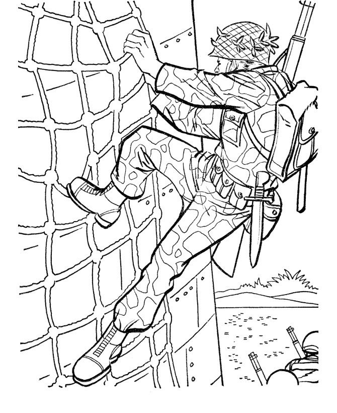 free printable army coloring pages for kids veterans day