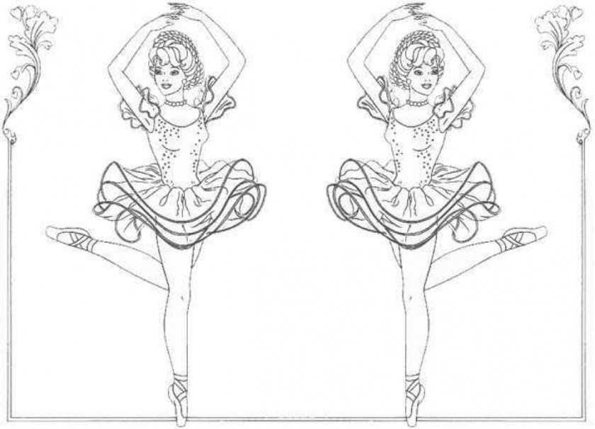 free printable ballerina coloring pages at getdrawings