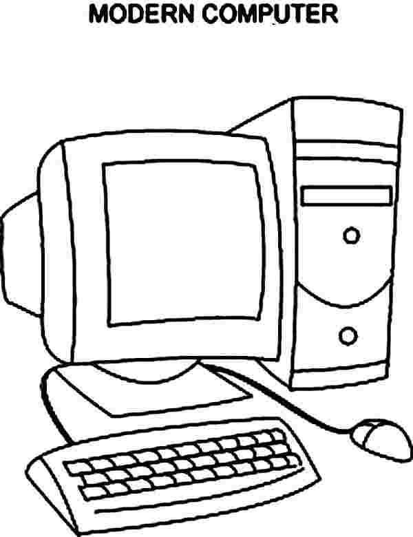 free printable coloring pages computer computer coloring
