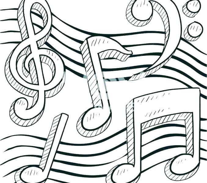 - Music Notes Coloring Pages Gallery - Whitesbelfast