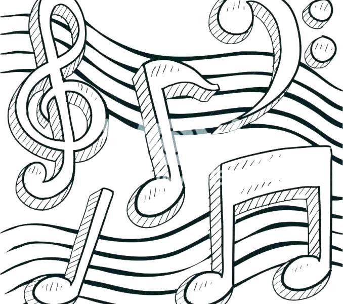 free printable coloring pages music pusat hobi