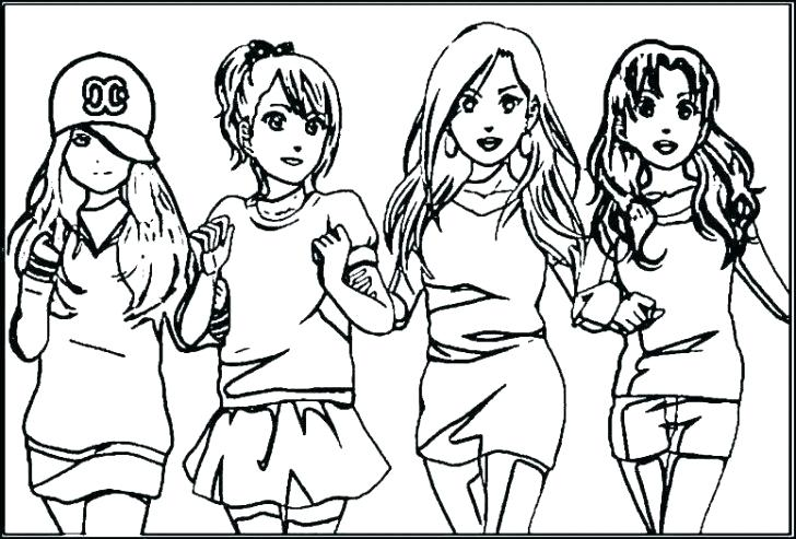 free printable coloring pages of best friends