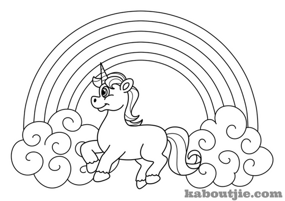 free printable coloring pictures unicorns huangfei