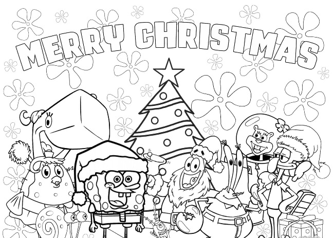 free printable disney christmas coloring pages 2019 online