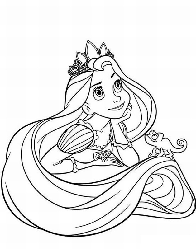 free printable disney princess coloring pages for kids