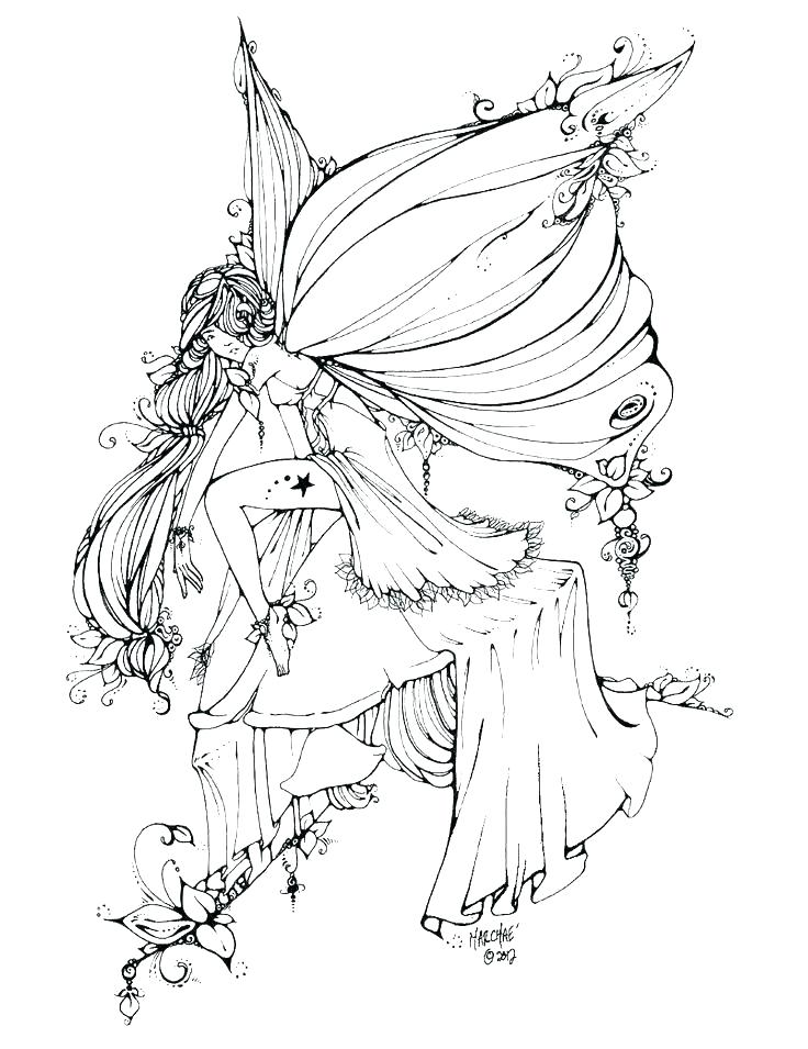 free printable fairy coloring pages for adults basestudiosco