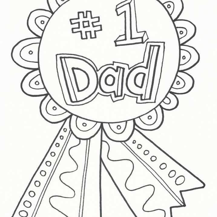 free printable fathers day coloring pages for kids