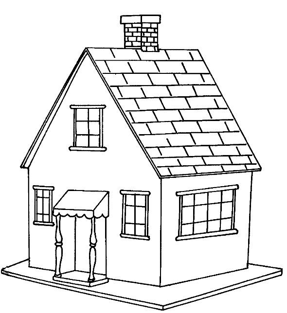 free printable house coloring pages for kids malvorlagen