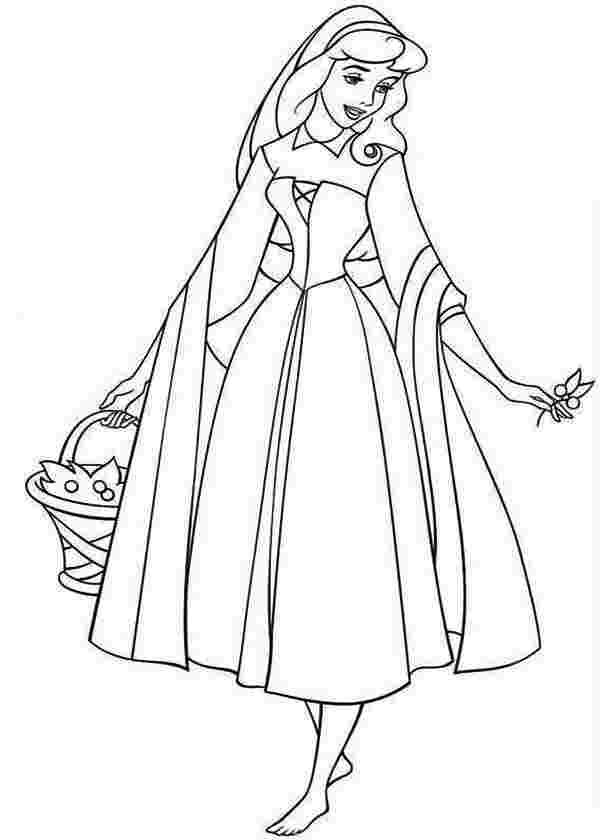 free printable princess aurora coloring pages coloring pages