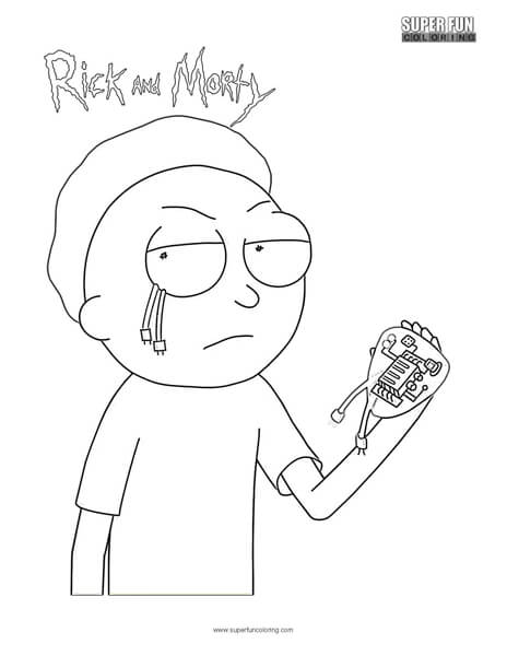 free printable rick and morty coloring pages berbagi ilmu