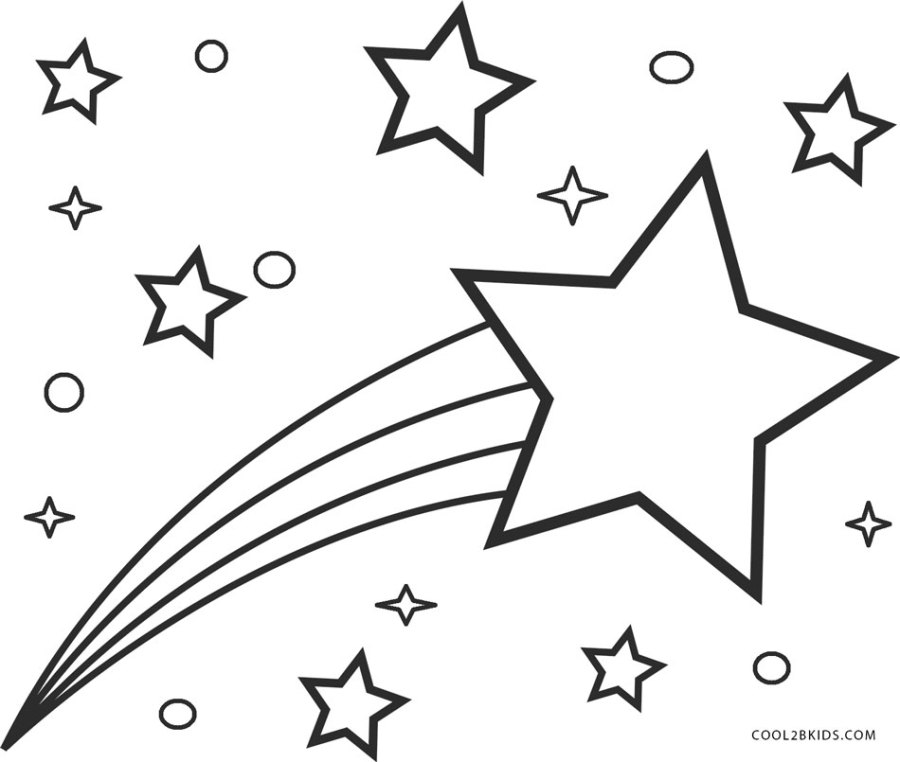 free printable star coloring pages for kids cool2bkids