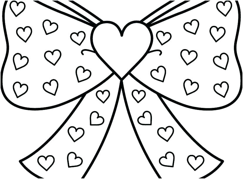 free printable valentine hearts coloring pages