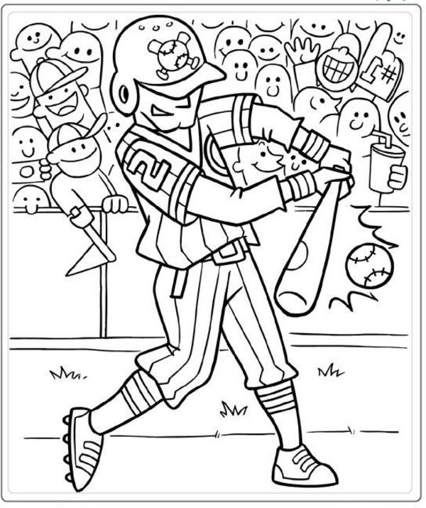 free sports coloring pages at getdrawings free for