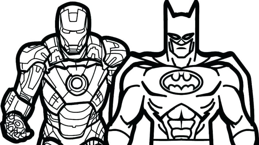 free superhero coloring pages at getdrawings free for