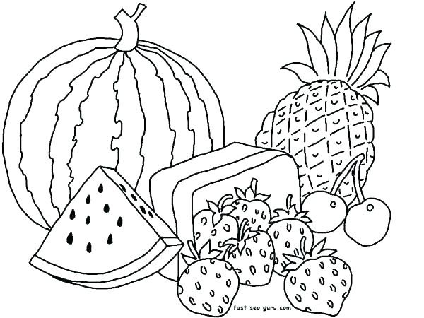 fruit coloring pages uwcoalition