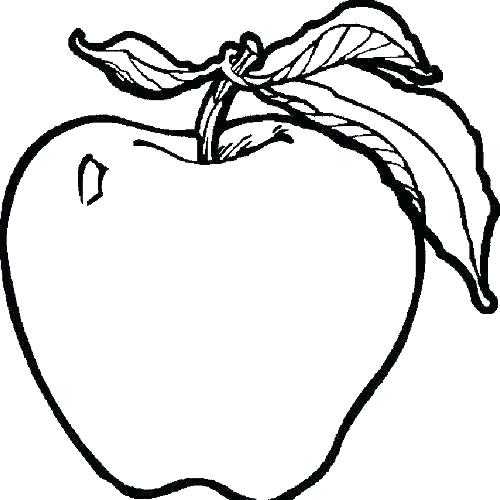 fruits drawing for colouring free download best fruits