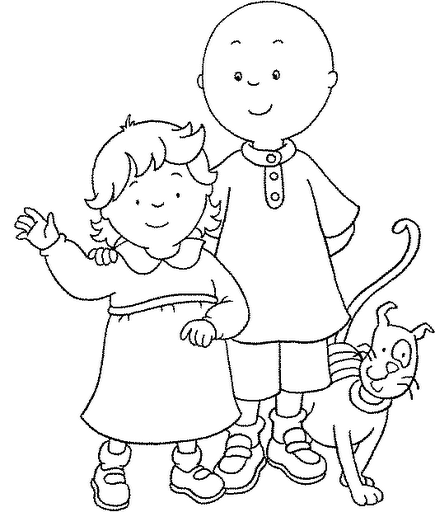 fun coloring pages caillou coloring pages birthday party