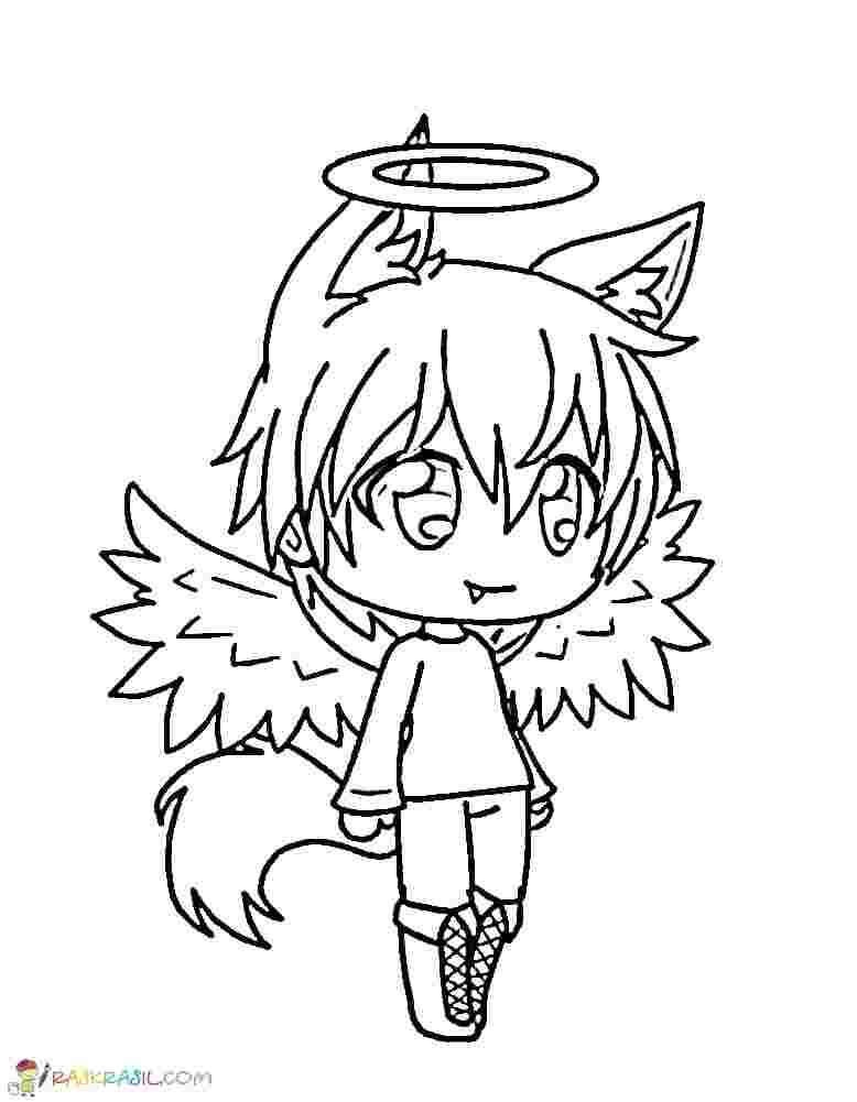 gacha life coloring pages ideas  whitesbelfast