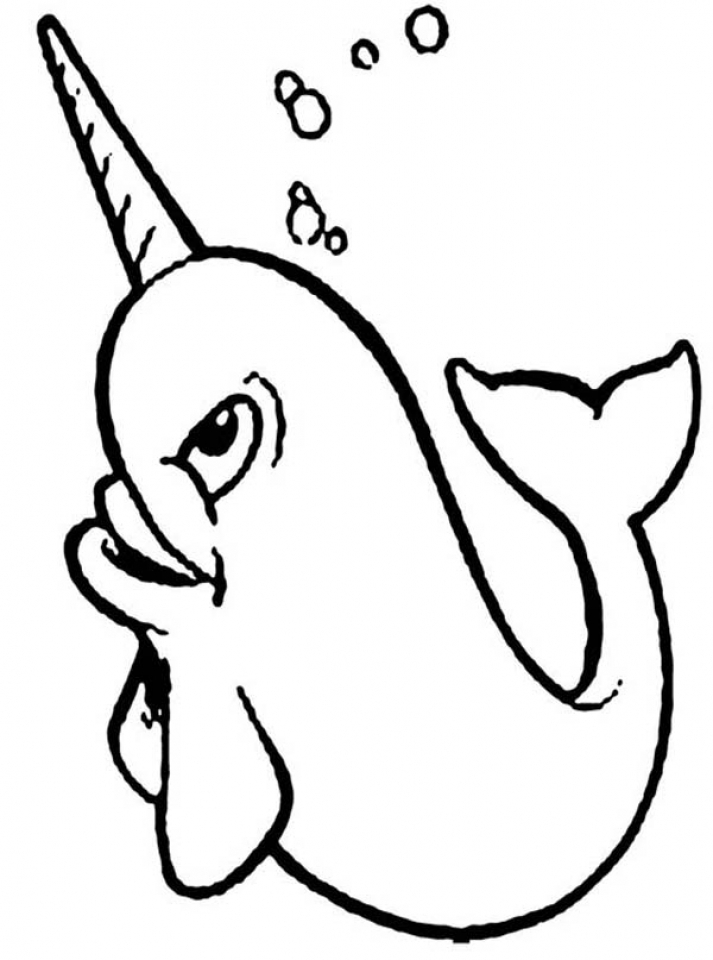 get this free narwhal coloring pages 34753