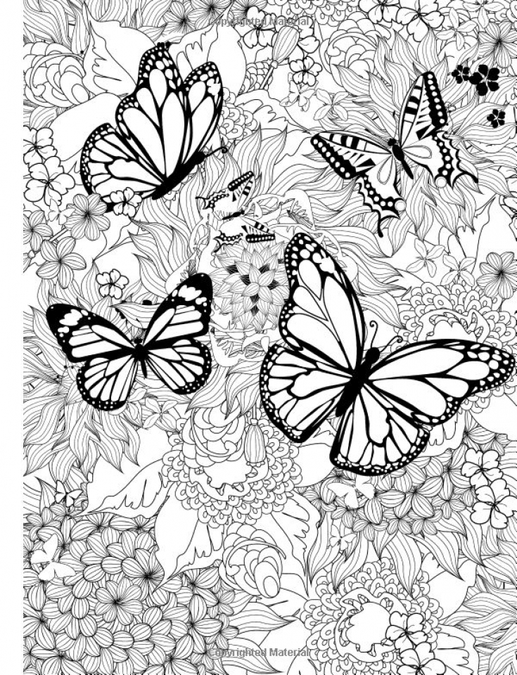 get this free printable butterfly coloring pages for adults