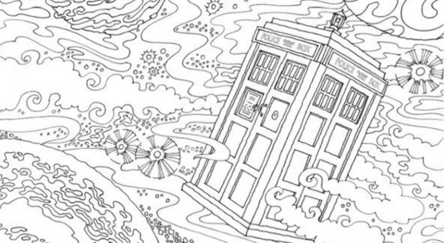 get this free printable doctor who coloring pages for kids