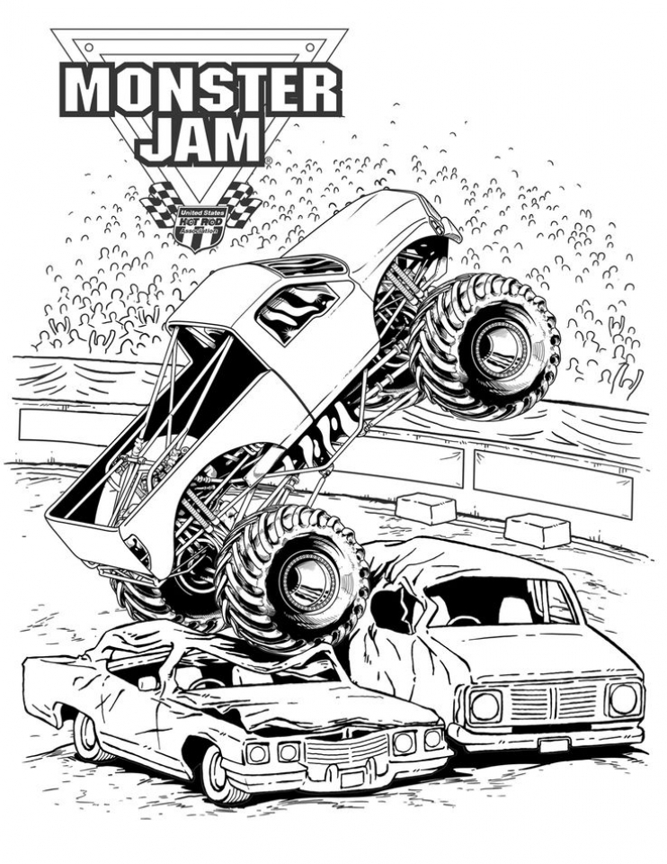 get this online monster truck coloring pages 3069