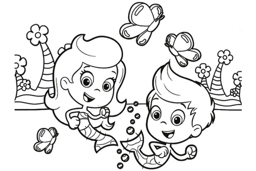 get this printable bubble guppies coloring pages online 387823
