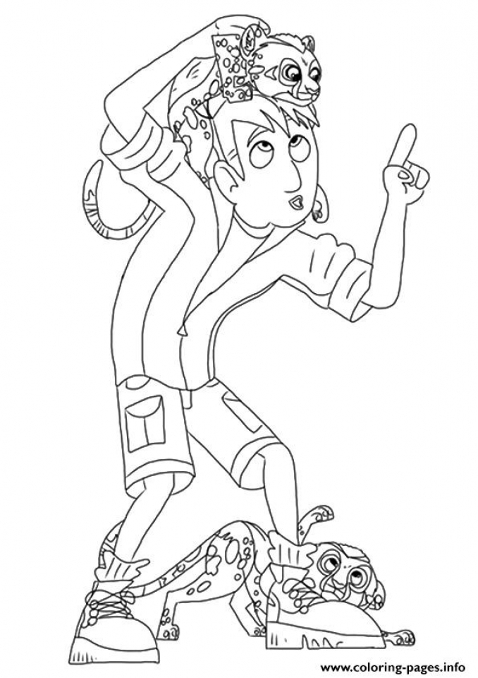 get this wild kratts coloring pages free tar3m
