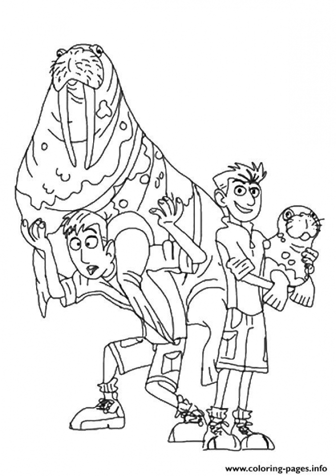 get this wild kratts coloring pages online 27hg9