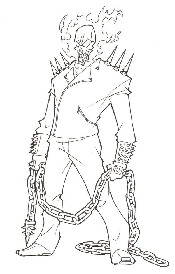 ghost rider coloring page ghost rider drawing coloring