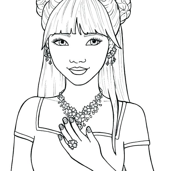 girl coloring pages to print noticiasdemexico
