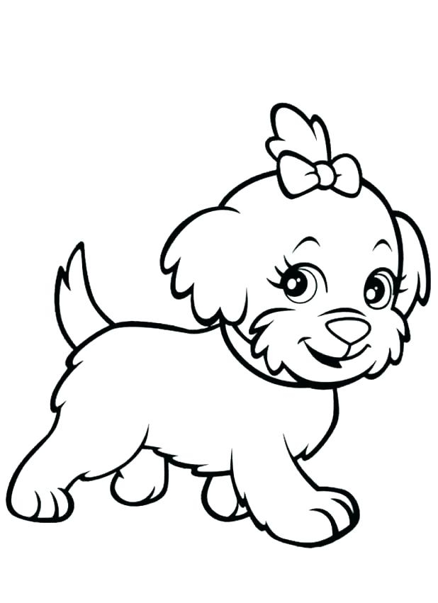 golden retriever puppy coloring pages to print fun for kids