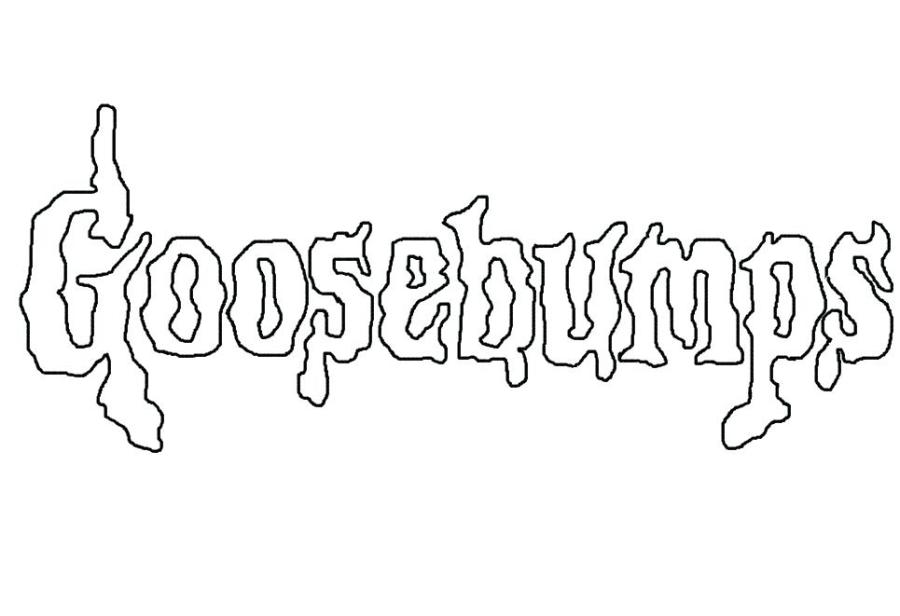 goosebumps coloring pages printable