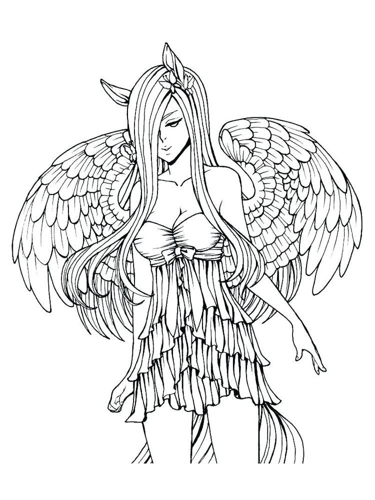 gothic fairy coloring pages printable below is a collection