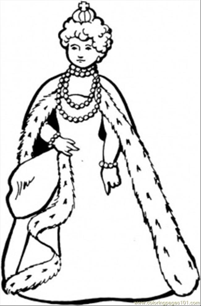 great queen coloring page free royal family coloring pages