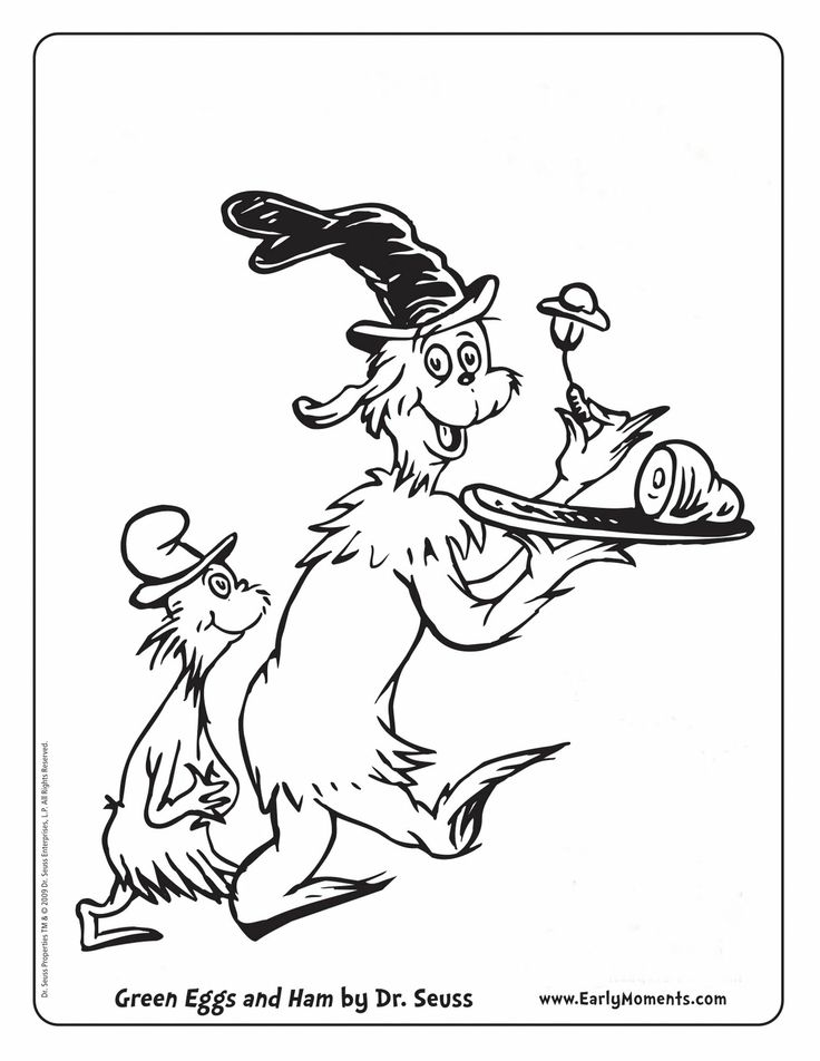 green eggs and ham coloring dr seuss coloring pages dr