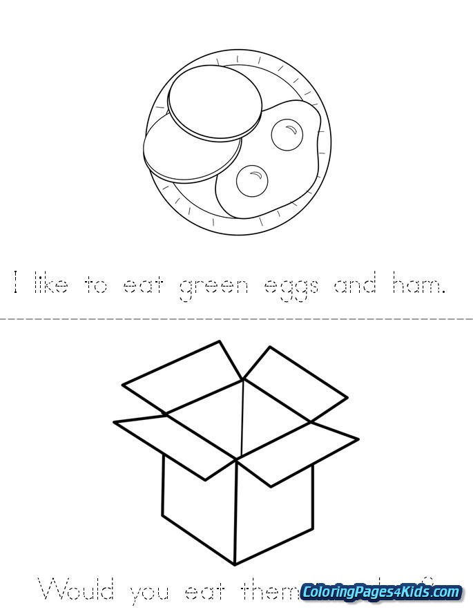 green eggs and ham coloring pages free printable coloring
