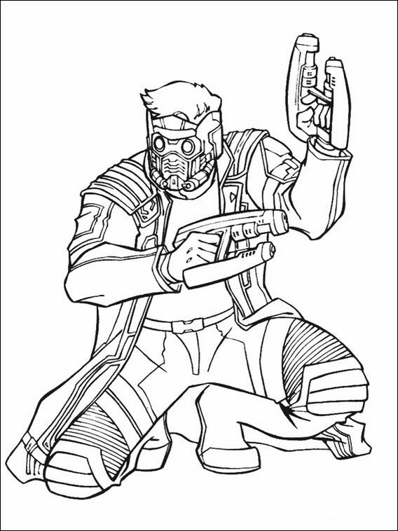 guardians of the galaxy coloring pages 41